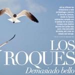 Roque Paraíso en revista Destinos.